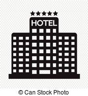 Hotel clipart 5 star Stars style Hotel icon building