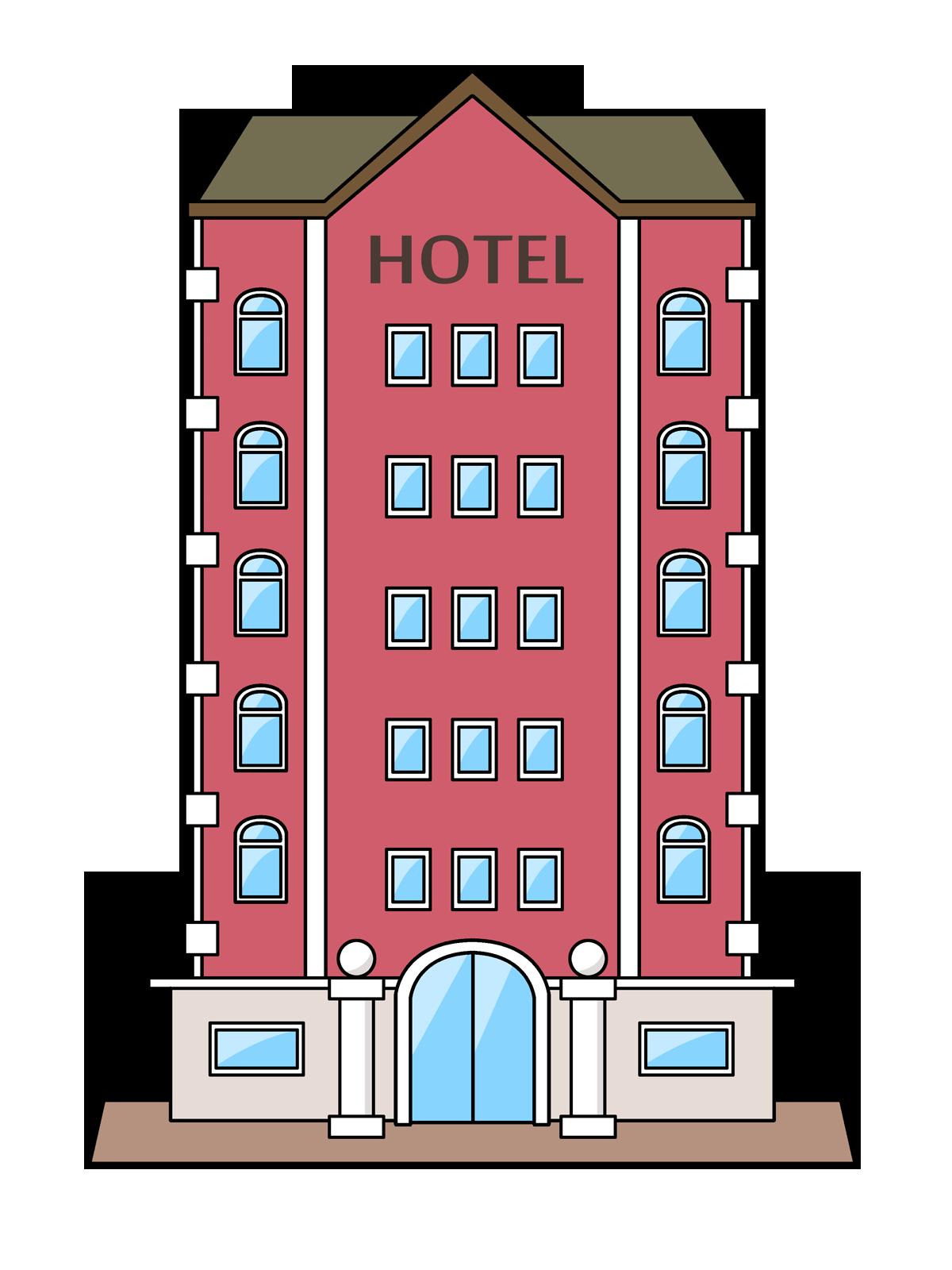 Hotel clipart Public Hotel Domain Free Clip