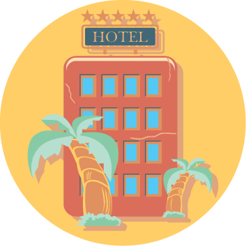 Hotel clipart high low ACCOMMODATION Visitor's END ~ ACCOMMODATION