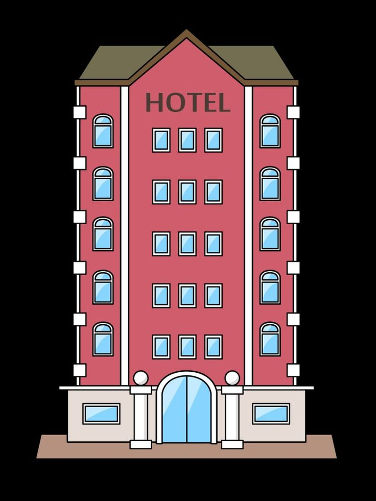 Hotel clipart high low Hotels 25+ hotel and clipart
