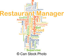Hotel clipart hotel and restaurant management Restaurant Images 502 manager concept