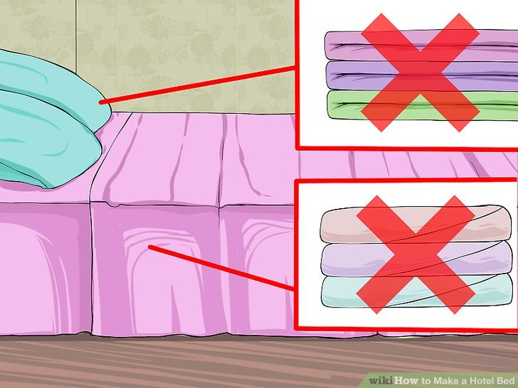 Bed clipart hotel bed To (with wikiHow a Hotel