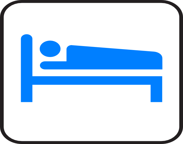 Bed clipart hotel bed At art  com vector