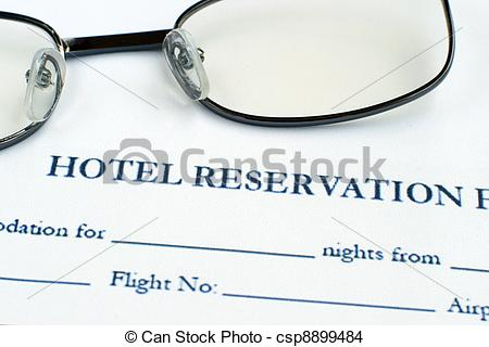 Telephone clipart hotel reservation Form Stock Hotel of Photo