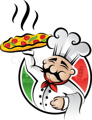 Wine clipart italian bistro Chefs Happy Italian Chefs Happy