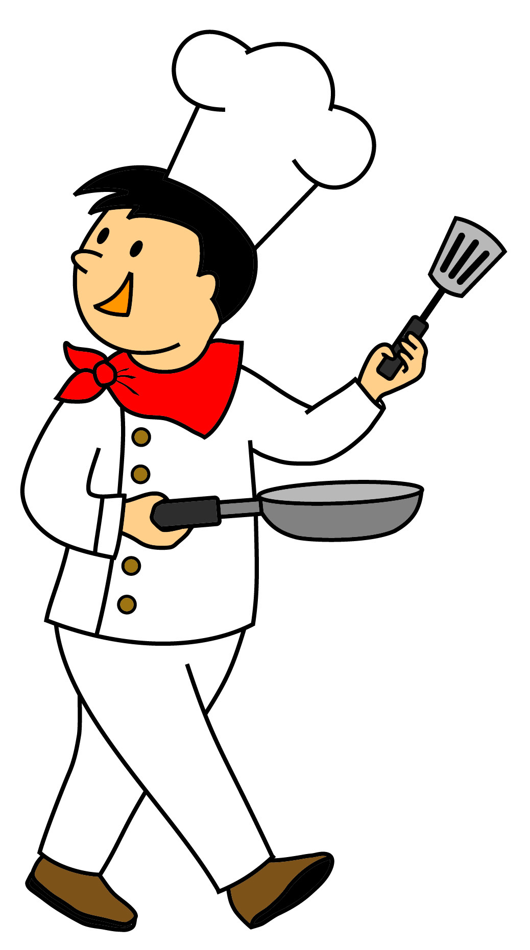 Moving clipart chef Lemon  Cooking; art Clipart