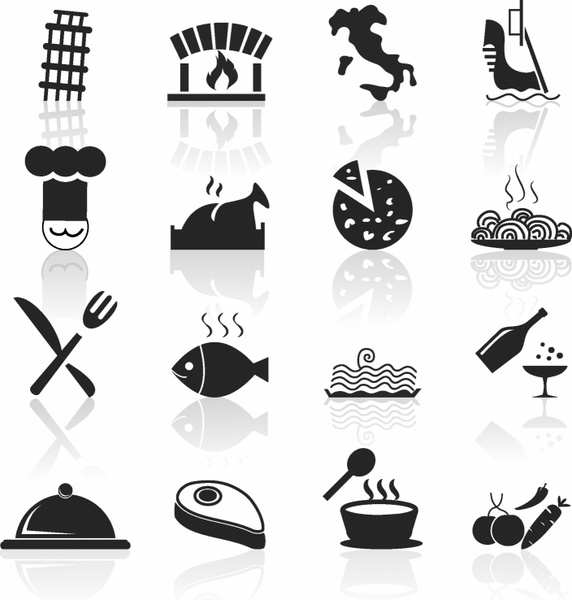 Hotel clipart italian food Restaurant and icons icons in