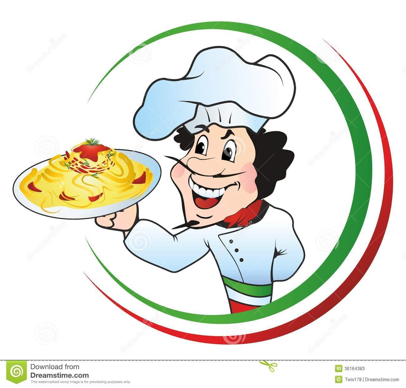 Spaghetti clipart italian person Clipart Art Panda Free Free