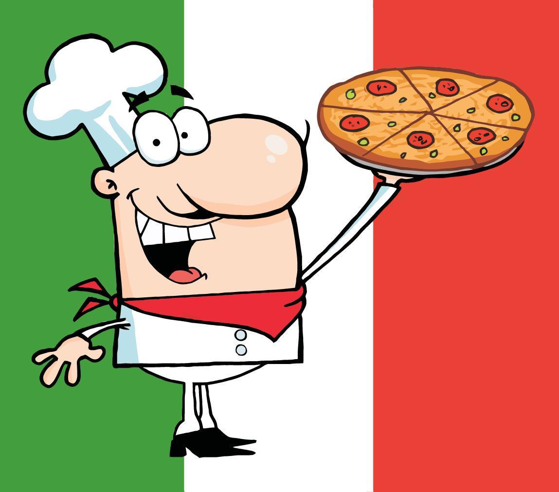 Spaghetti clipart italian person Italian Clipartix download Art on