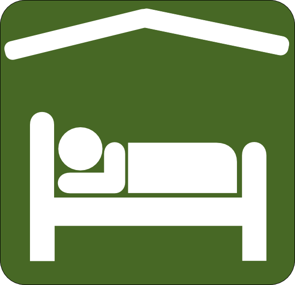 Bed clipart green Art  Green/white as: this