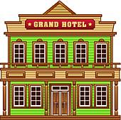 Building clipart old west Building Art grand Wild West