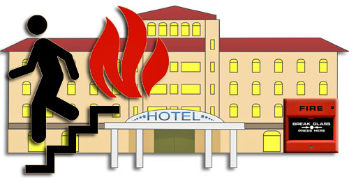 Hotel clipart on fire Common many thinking! safety only