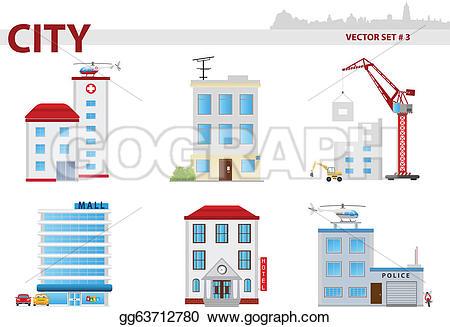 Hotel clipart public building Illustration building 3 Illustration house