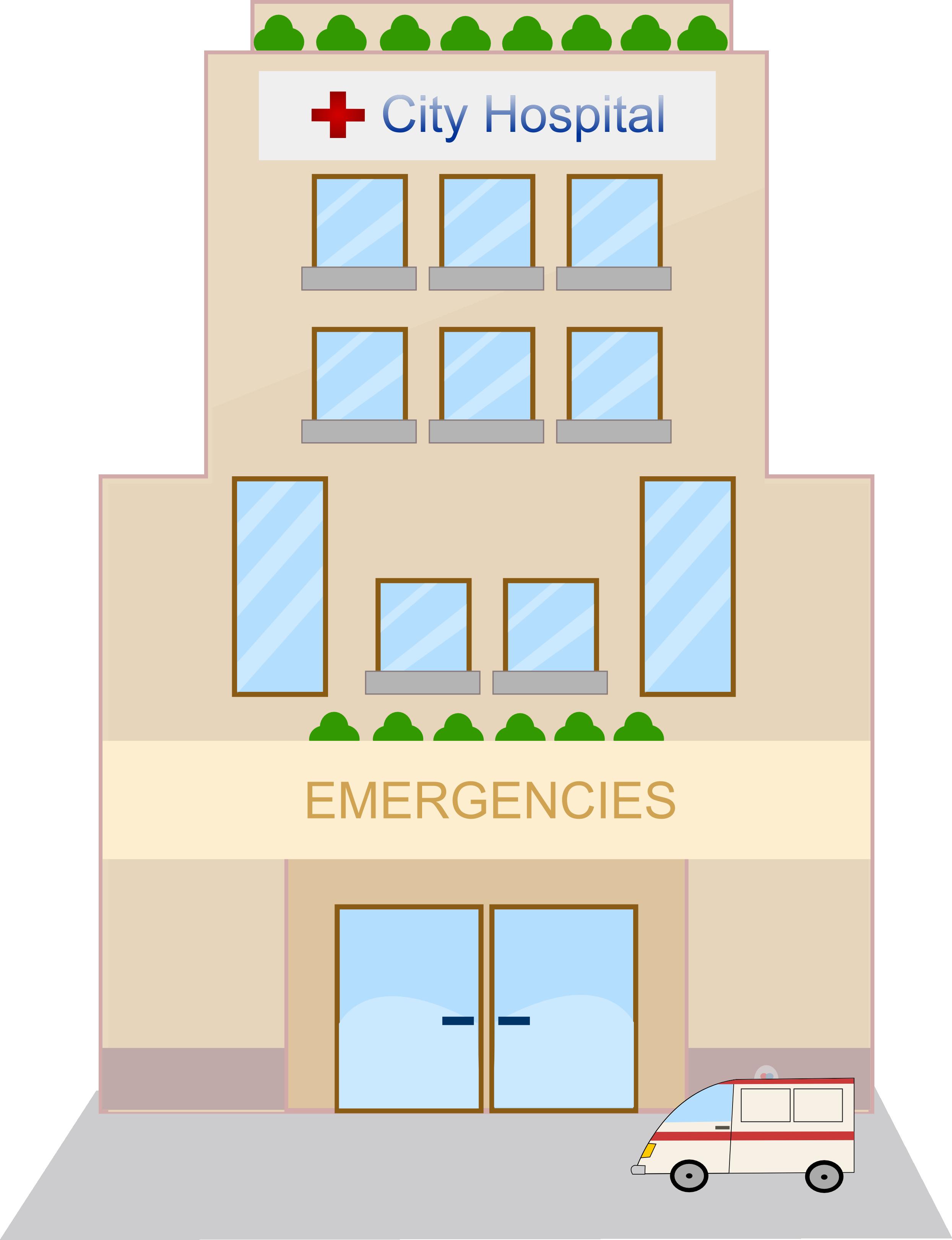 Hotel clipart public building Cartoons Cartoons VBS Hospital Ideals