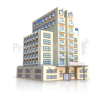 Resort clipart city building  Presentation Resort Art for