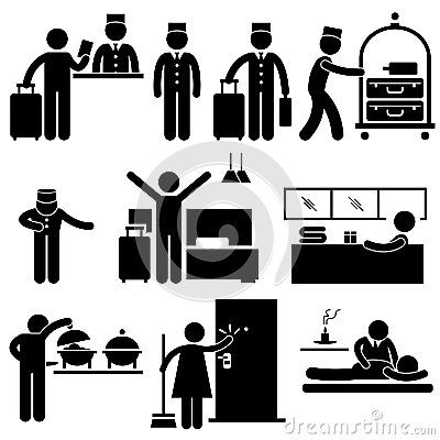 Hotel clipart vater Workers (400×400) 29609938 about Stick