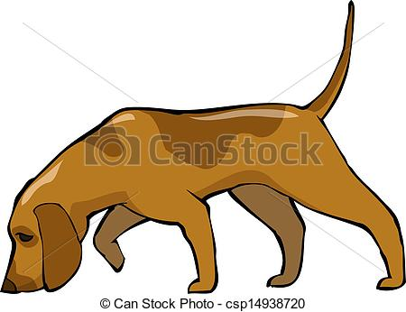 Hound clipart A dog art vector and