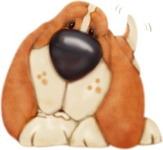 Basset Hound clipart animated Library Basset Art Clip Cliparts