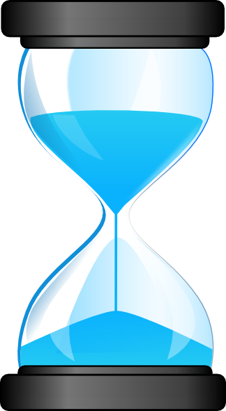 Hourglass clipart Art domain com vector royalty