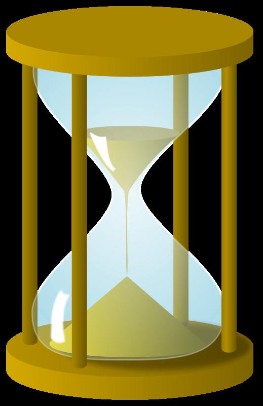 Hourglass clipart art #2