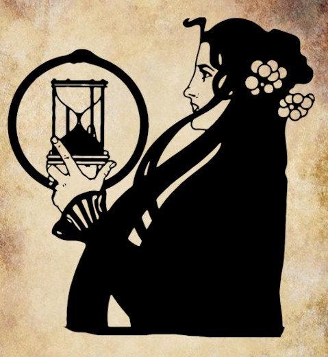Hourglass clipart art #14