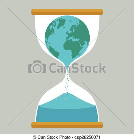 Hourglass clipart earth Illustration Search csp28250071 of Earth