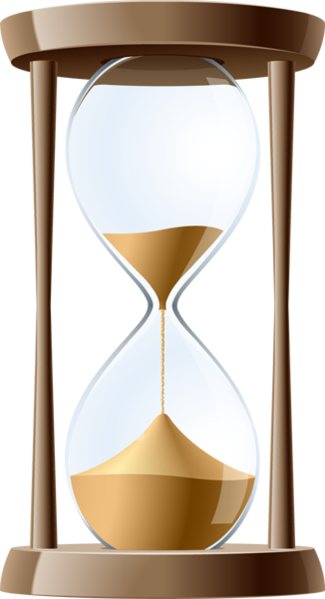 Hourglass clipart sand clock Realistic Hourglass Sand Cliparts Clipart