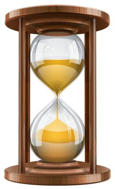 Hourglass clipart sand timer Nice Sand Wooden 60 Metal/Glass