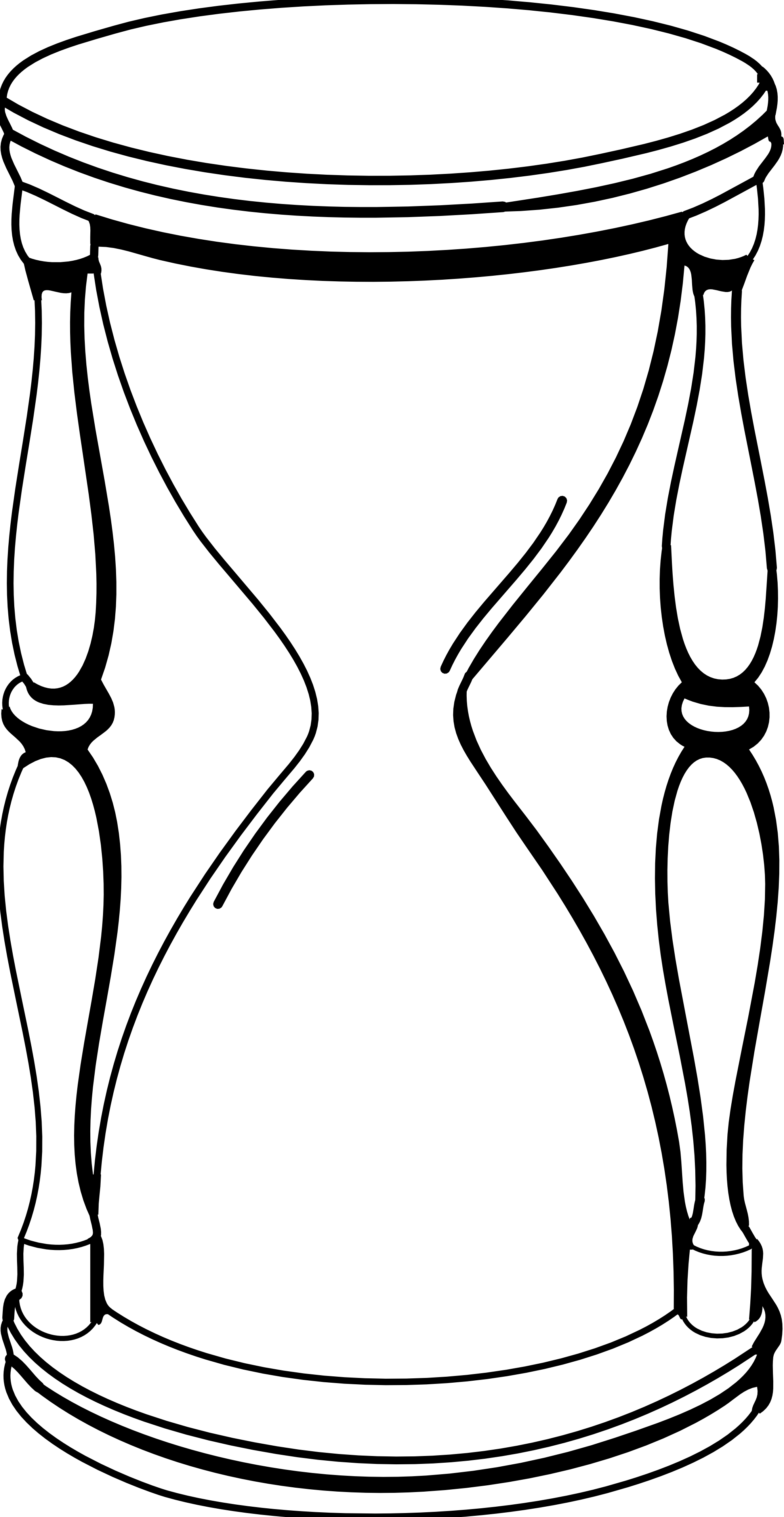 Hourglass clipart sand timer And and Black Glass Hour