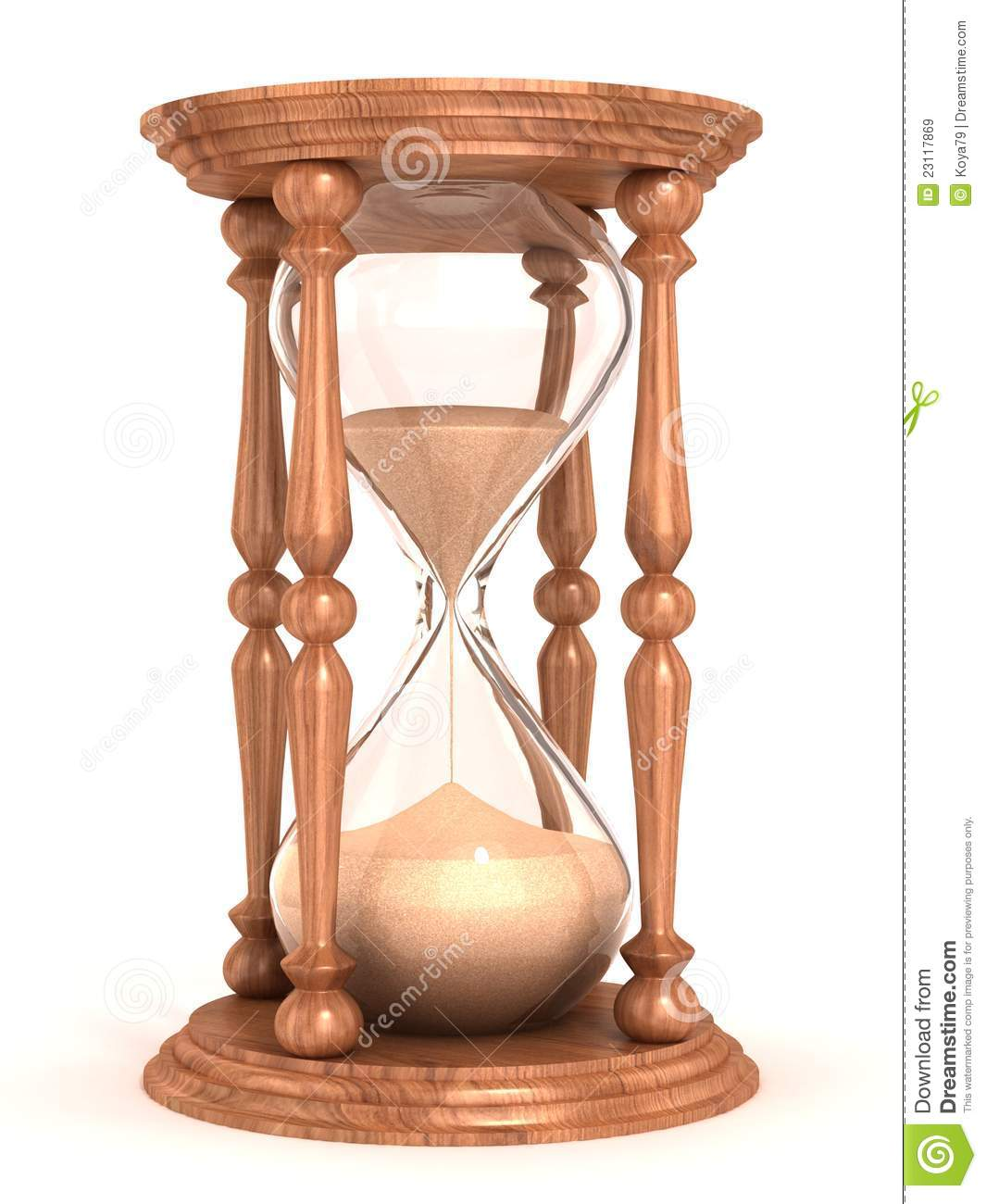 Hourglass clipart sand timer White Hourglass hourglass isolated clock