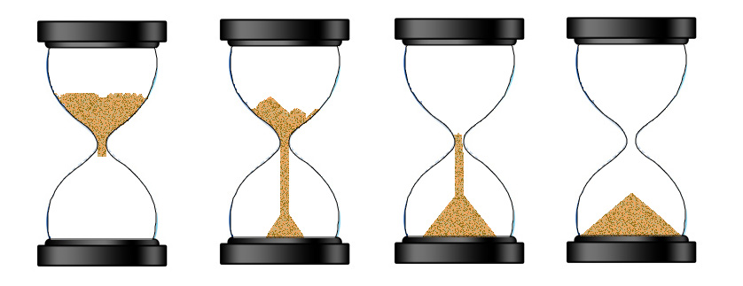 Hourglass clipart sand timer Egg stages 4 Canvas HTML5