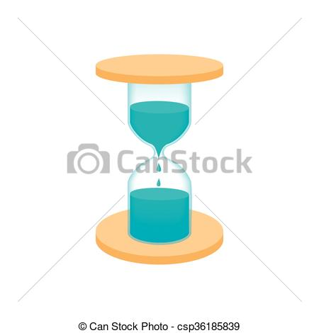 Hourglass clipart water With of dripping with water