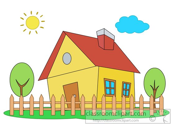 Dreaming clipart home building Free their home Clipart Pictures