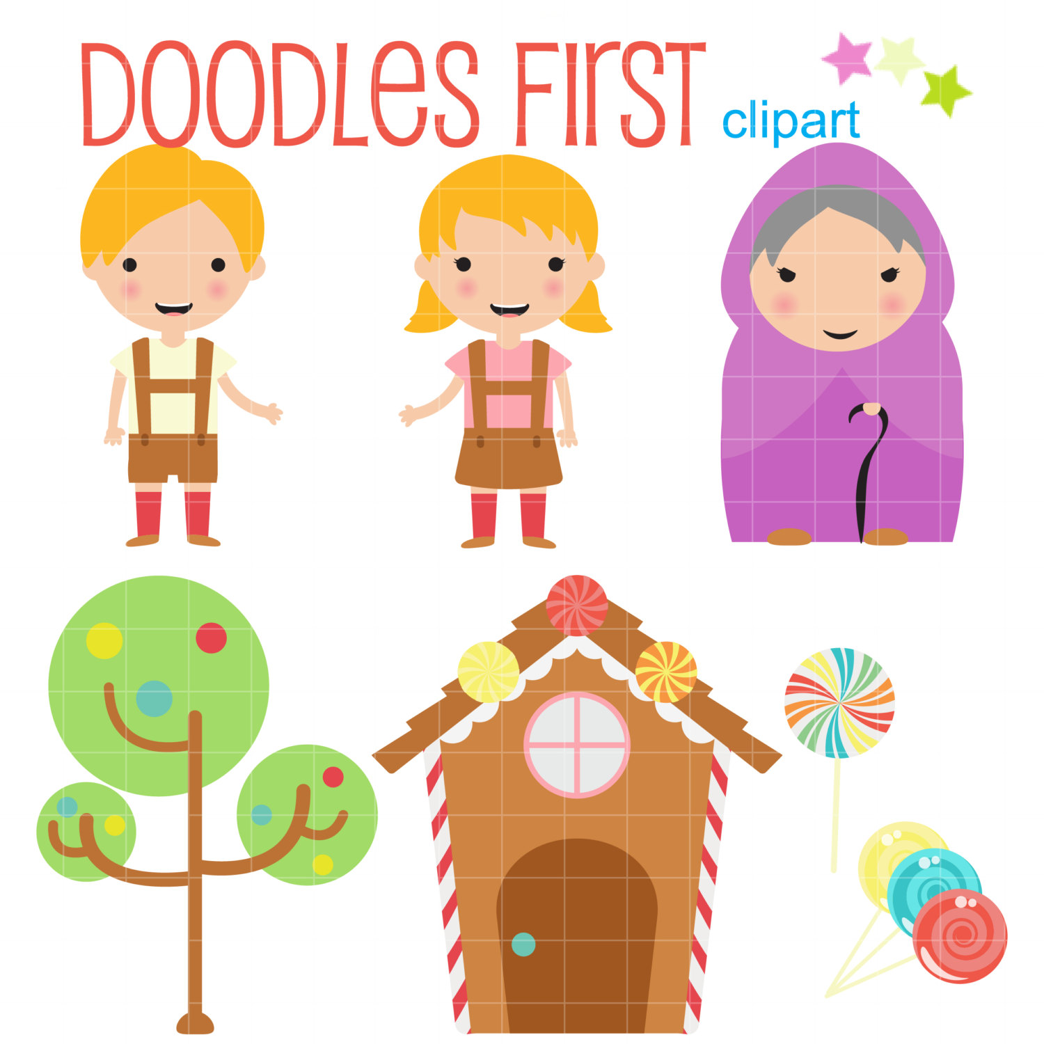 House clipart hansel and gretel For Clip And Card Digital