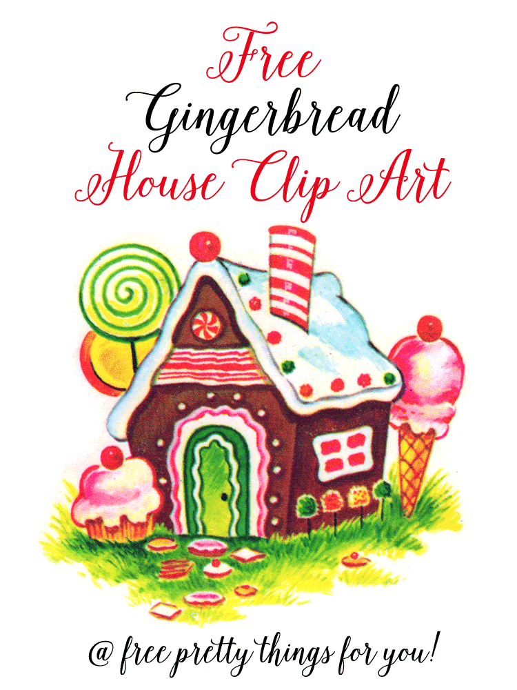 House clipart hous House Free  Gingerbread Images: