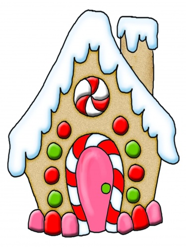 House clipart hous House Gingerbread  Clipart