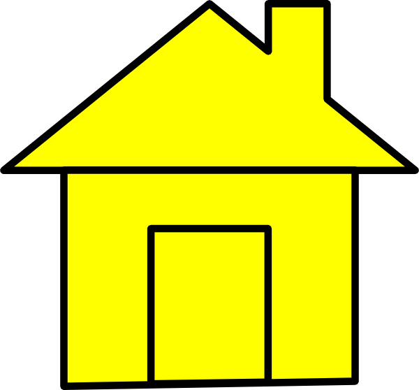 House clipart hous Yello Vvisitingmexico House clker www
