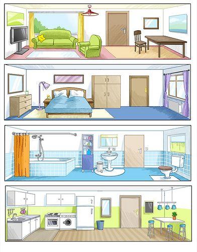 Room clipart la casa #4