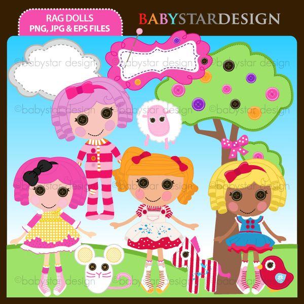 Doll clipart lalaloopsy On lalaloopsy Party : Party