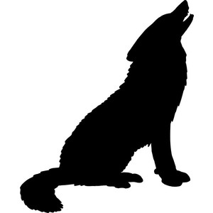 Wolf clipart wolf howling Howling 6 ClipartBarn Wolf wolf