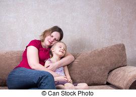 Hug clipart Mom giving hug Savoronmorehead clipart