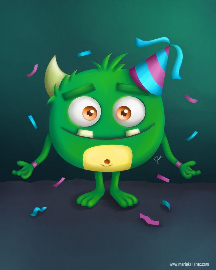 Monster clipart hug #6