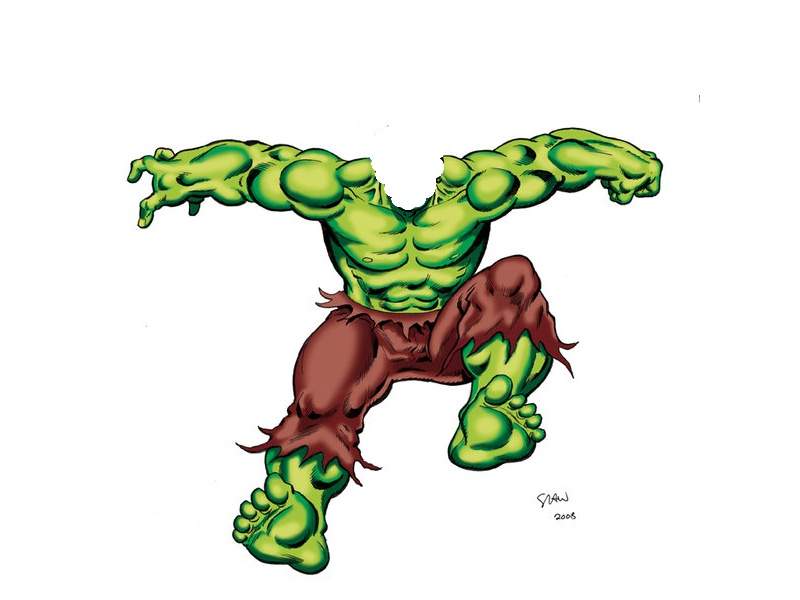 Superman clipart the incredible hulk Art Clipart Hulk Free Art