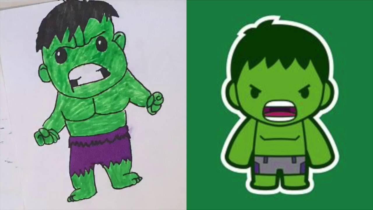 Hulk clipart baby BABY HULK YouTube HULK DRAWING!!!