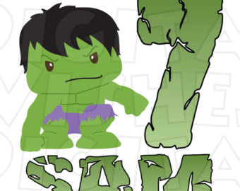 Hulk clipart baby AGE transfer The iron clip