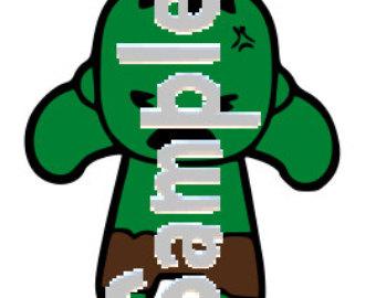 Hulk clipart baby Avengers SVG avengers Etsy HULK