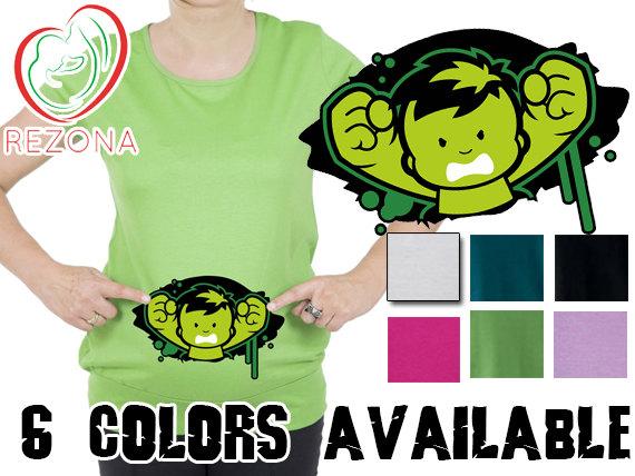 Hulk clipart baby Superhero Baby Shirt Maternity My