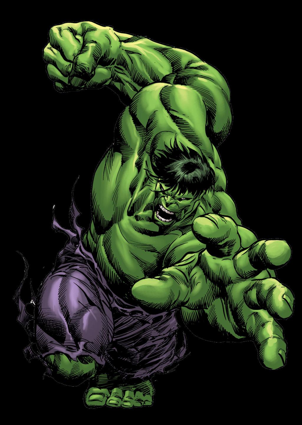 Comic clipart hulk Very StickPNG PNG transparent Hulk