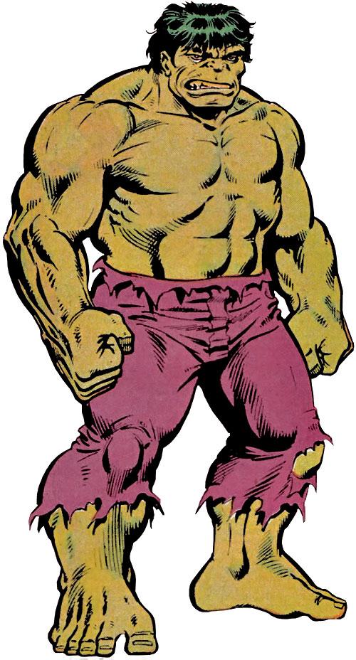 Comic clipart hulk Profile Comics version Iconic Banner