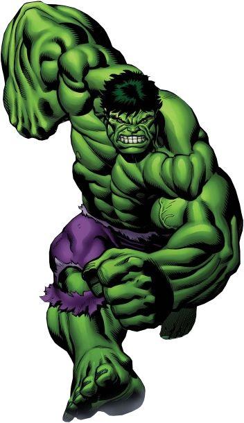 Comic clipart hulk (THE images Artwork 5 *